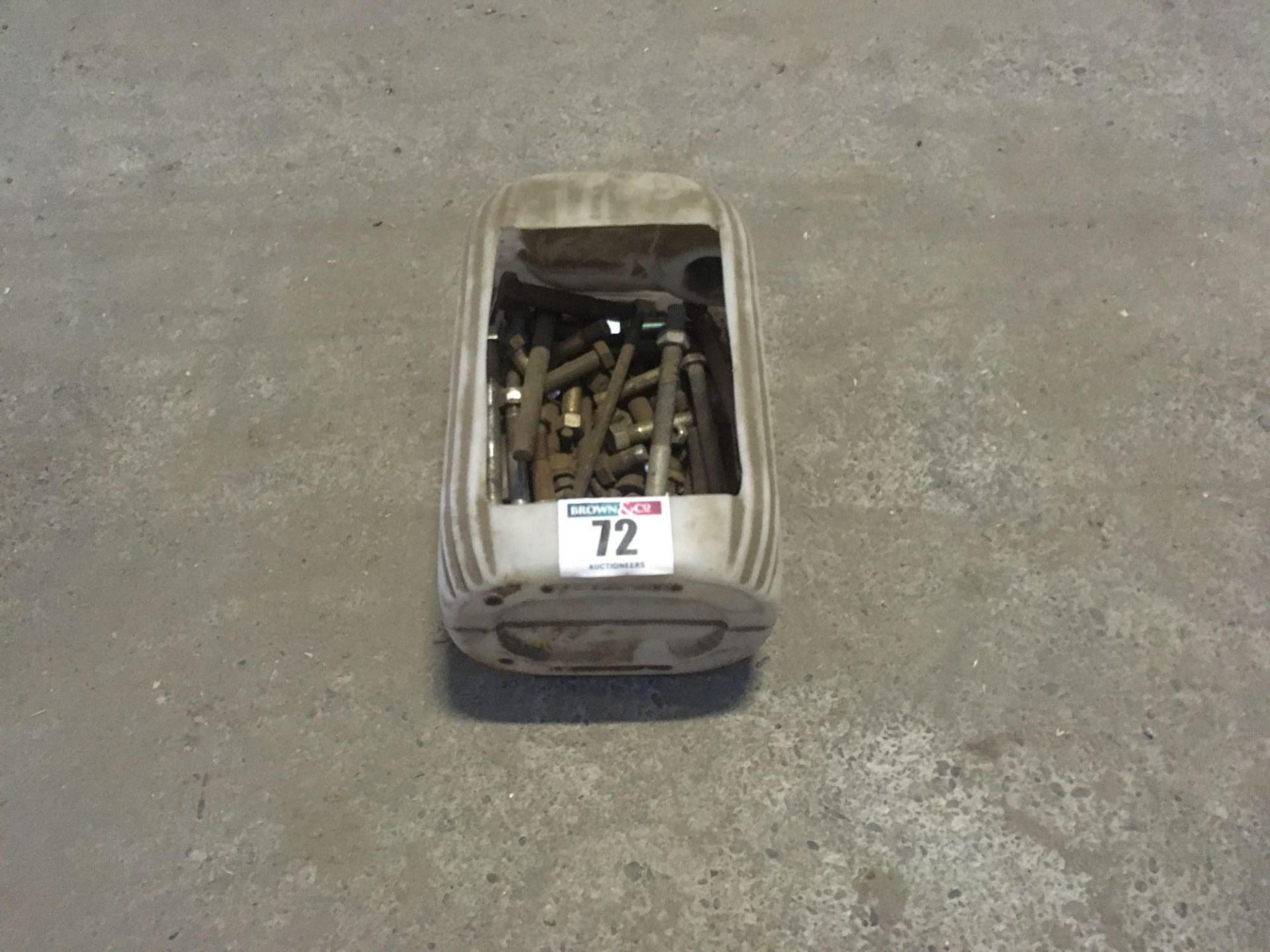 Assorted nuts and bolts