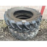 Pair of Continental 380/85R28 tyres