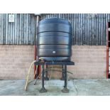 Paxton CT1000 water tank with metal stand