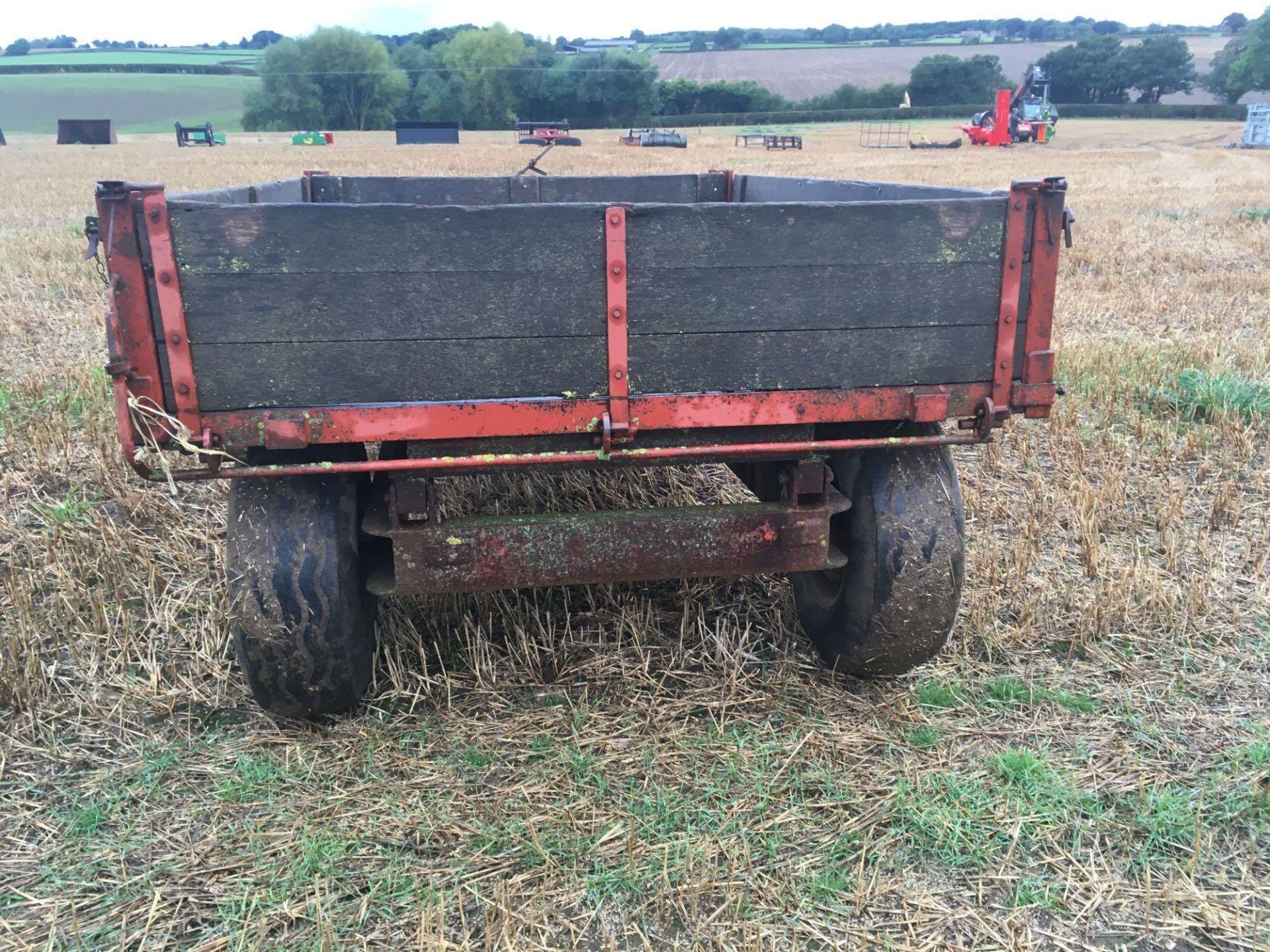 Tye wooden trailer - Image 3 of 4