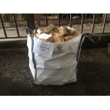Qty of timber logs (5 bags)