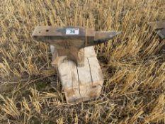 Small workshop anvil
