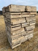 Quantity chitting trays(approximately 400 in each other, remaining in yard)