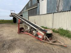 Swift-lift grain elevator 11m with 2m extension, 3ph. (NB: Sold in situ, buyer to remove from Pear T