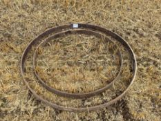 Cart wheel rings