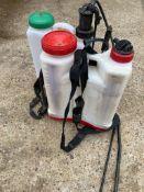 2No. Knapsack sprayers, spares or repairs