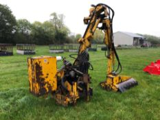 Bomford 580 hedgecutter with 1.4m flail head. Serial No: 1159