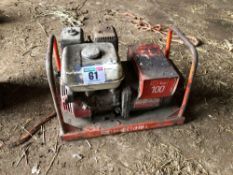 Haverhill single phase generator with Honda petrol engine