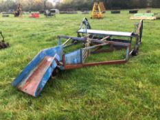 Conventional bale sledge
