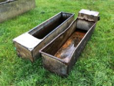 Quantity water troughs