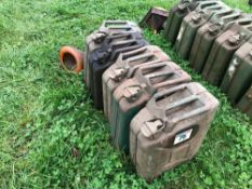 Quantity Jerry cans