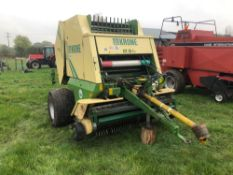 Krone KR10-16S Multicut round baler. Serial No: 397194. Manual and Control Box in the Office.