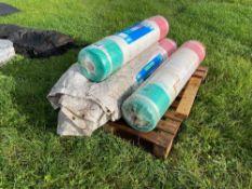 4No. rolls 3600 net wrap