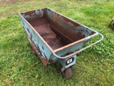 3 wheeled feed barrow