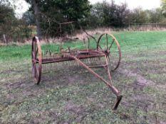 Bamford vintage hay rake