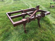 Browns 7 leg fixed tine cultivator. Serial No: PRMC2931