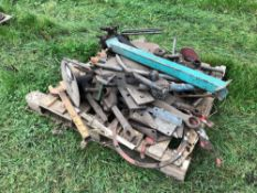 Quantity miscellaneous tractor spares
