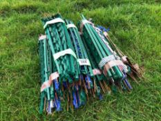 Quantity electric fence stakes