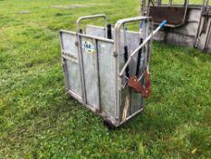 IAE calf crush. Serial No: 041752