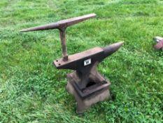 Workshop anvil