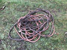Quantity air line hose and belts