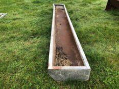 Galvanised 14ft 9inch trough