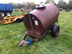 1991 Trailer Engineering single axle water bowser. Serial No: 6764