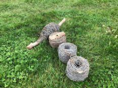 Quantity barbed wire