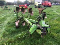 Dowdeswell DP8A 4f (3+1) reversible plough. Serial No: 871435166