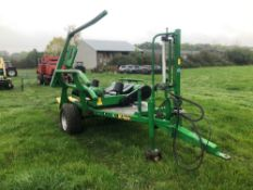 2005 McHale 991 BC round bale wrapper. Serial No: 054346. Manual and Control Box in the Office.
