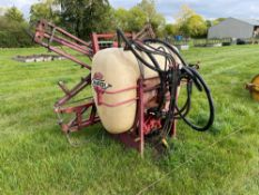 Hardi MX800 800l 12m linkage mounted sprayer PTO driven, spares or repairs