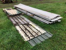 Quantity metal sheets