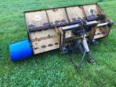 ETC MIL PTO driven fodder chopper bucket, linkage mounted
