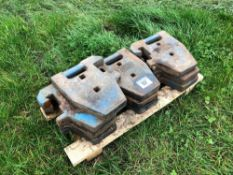 10No. Ford wafer weights