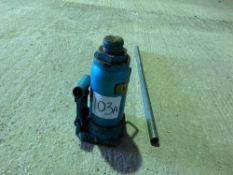 12t Draper bottle jack with handle