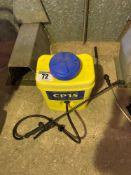 Knapsack sprayer cp15