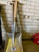 Grain shovels x3
