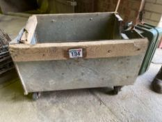 Box on casters