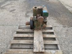 Lister stationary engine water cooled