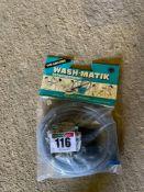 Washmatic brush and pipe