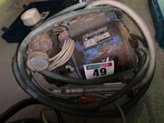 Crompton Parkinson Compressor, 240 volt for spares or repairs