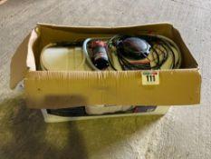 Sealey SS98 broadcast/spot sprayer, 98 litre, 12 volt c/w two lances