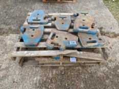 19 x Ford weights to fit 4000/5000 series