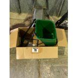 Garden rotary spreader