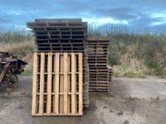 Qty of pallets