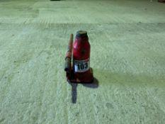 10t Powerpart bottle jack with handle