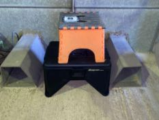 Snapon step with built in tool box and orange step