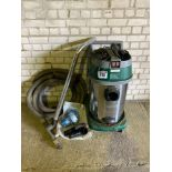 Trucraft 600 vacuum cleaner c/w pipes & new motor. Manual in the office