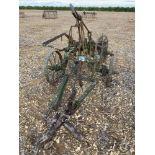 3 furrow adjustable crawler plough