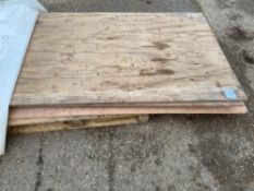 Qty of ply board